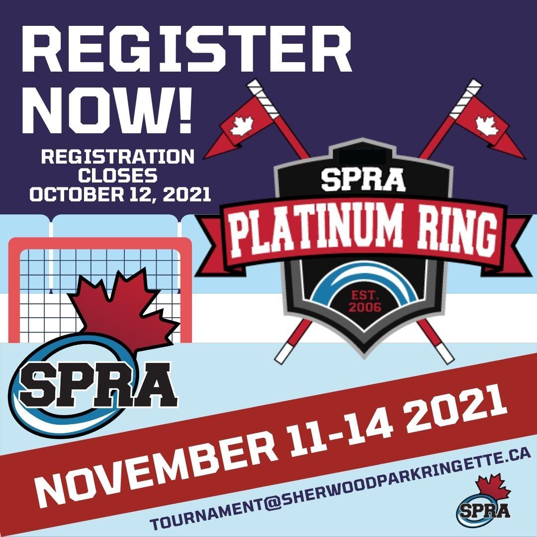 SPRA Platinum Ring register