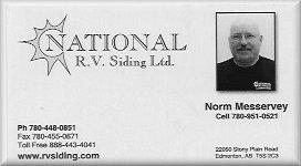 National RV Siding