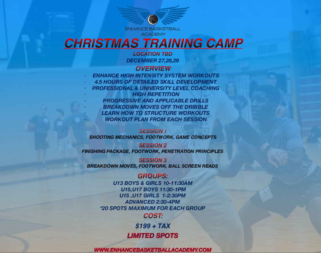 Christmas Training Camp