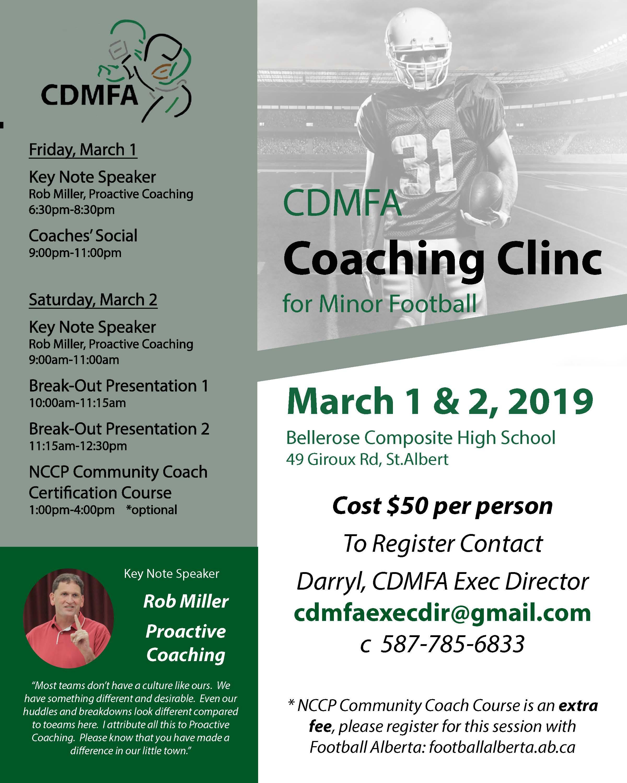 CDMFA Coach Clinic