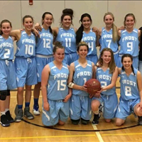 2018 SBA Frost Juvenile Girls Spring League Champs!