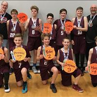 2017-18 SBA Steel - SBA Bantam Boys 'A' Team