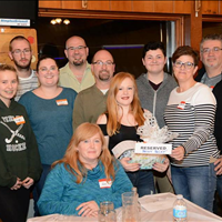 Congratulations to Becky Becky & the 7 Dwarves, the winning Trivia Night team