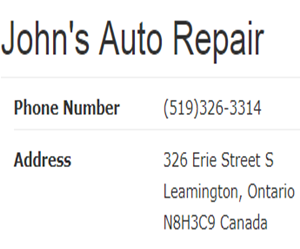 John's Auto Repair