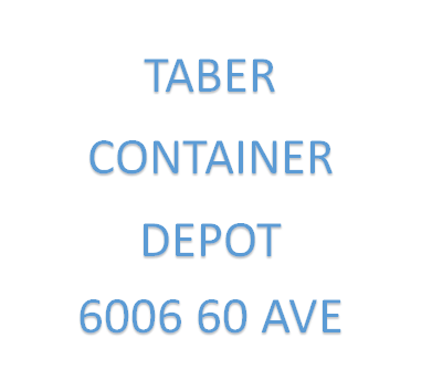 Taber Container Depot Exp May 2020