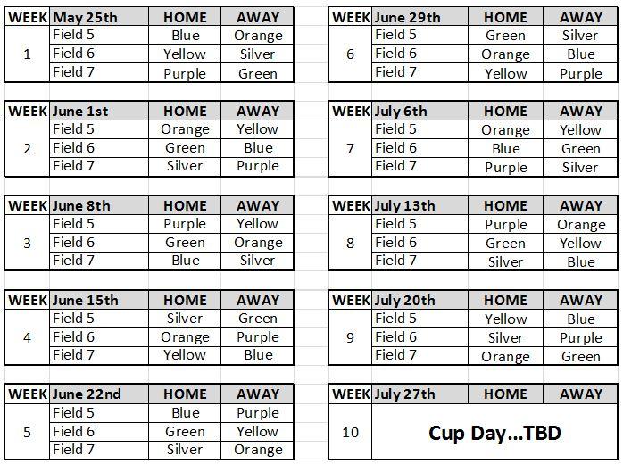 U4 Schedule