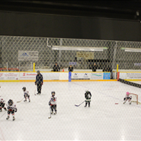 Trying our best at our home rink, go Titans!