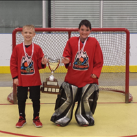 Tri-City Heat - Cup winners Will and Graydon