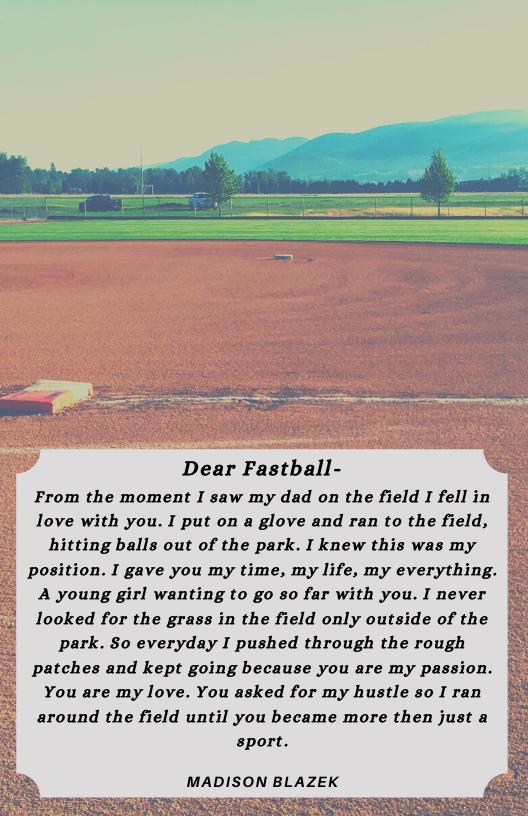 Poem About Softball