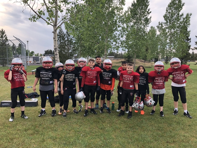 Atom, Peewee & Bantam Tackle (coed, ages 8-15)