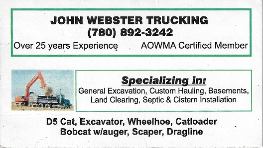 John Webster Trucking