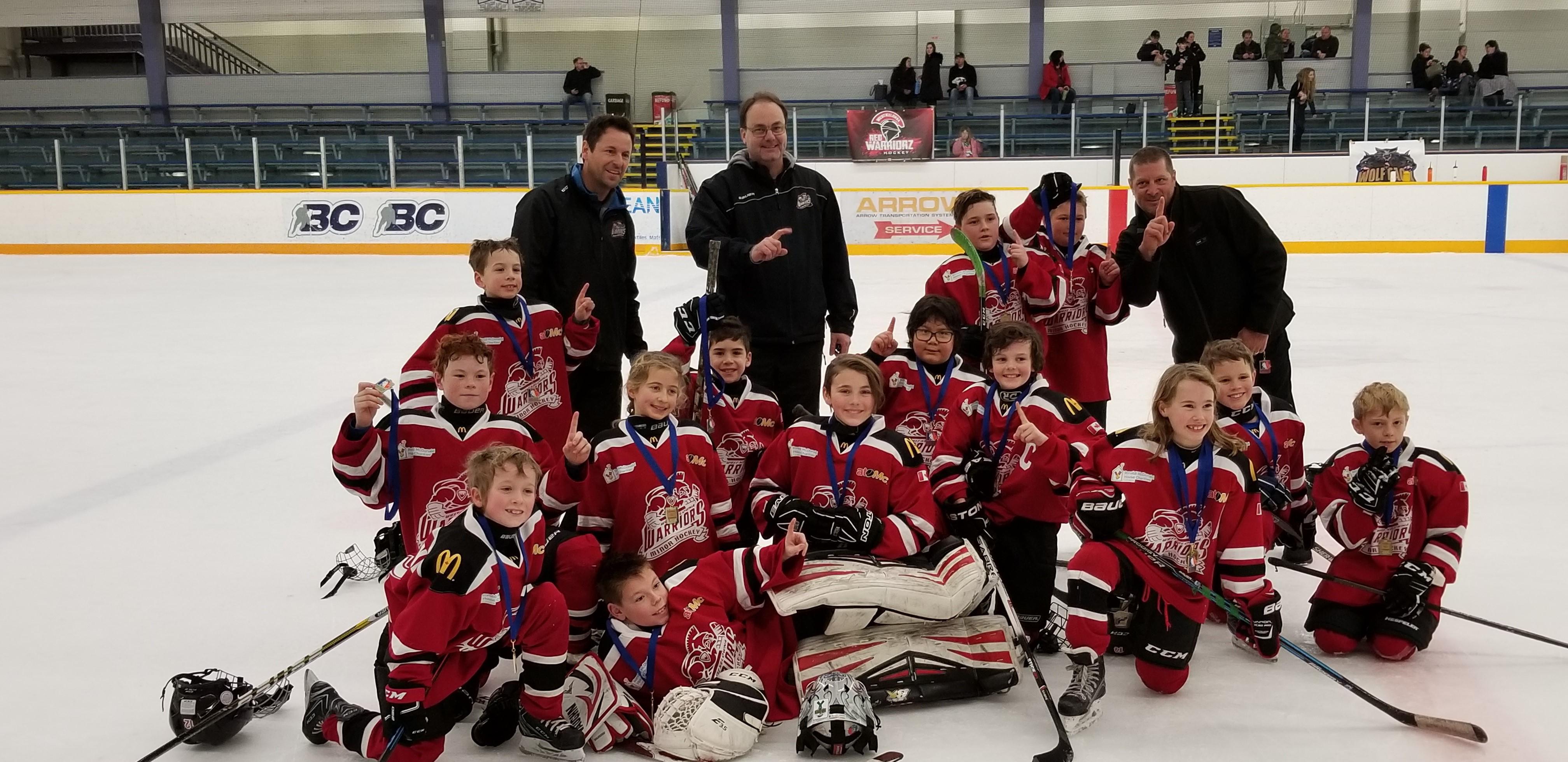 West Kelowna Minor Hockey Association Website By Ramp Interactive