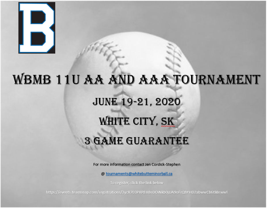 2020 11U Tournament