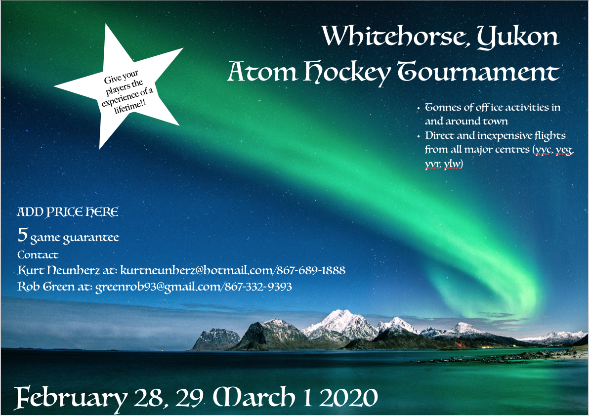 Atom Tournament Feb 28-Mar 1