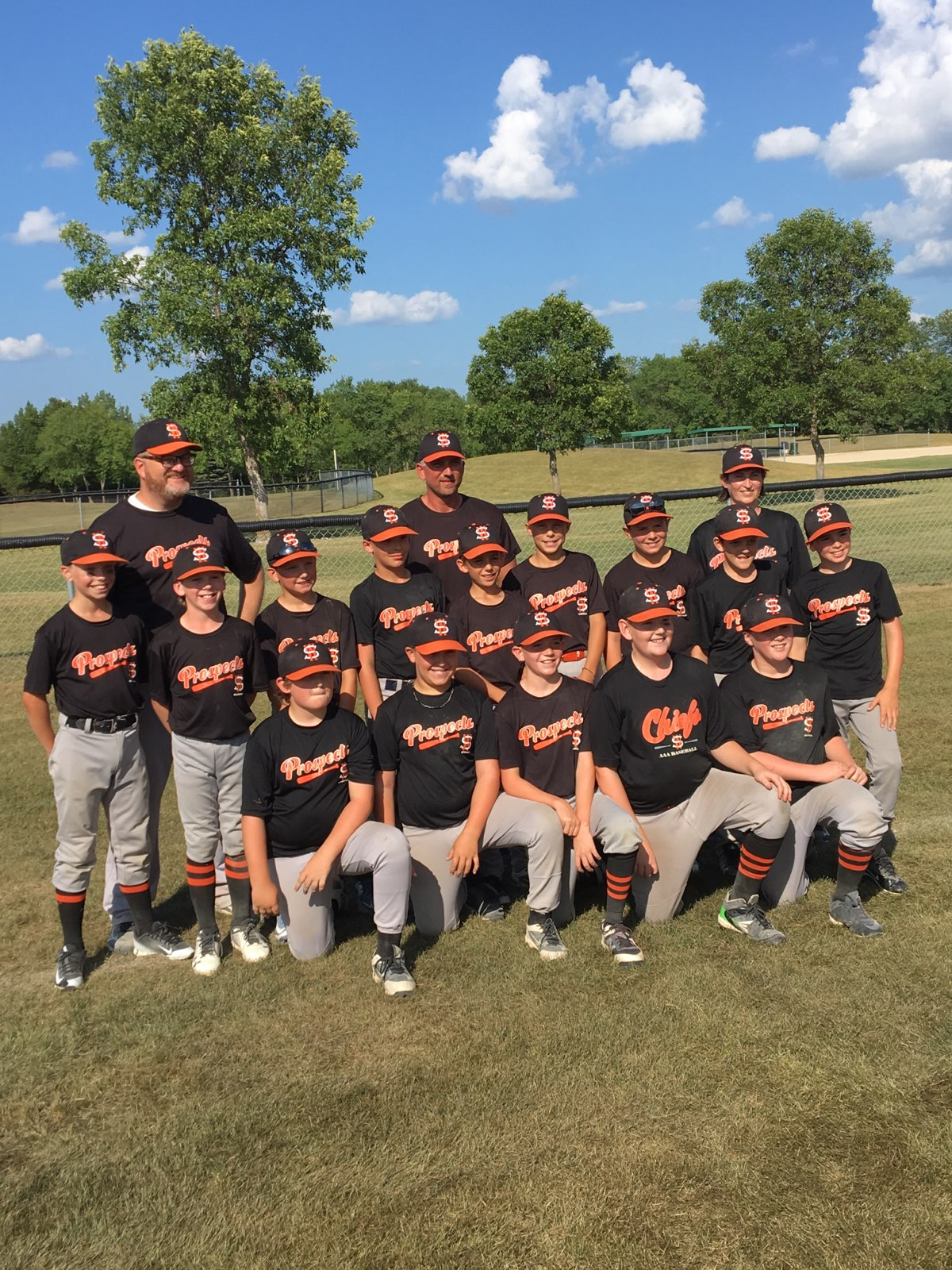 2018 Prospects Team Penner