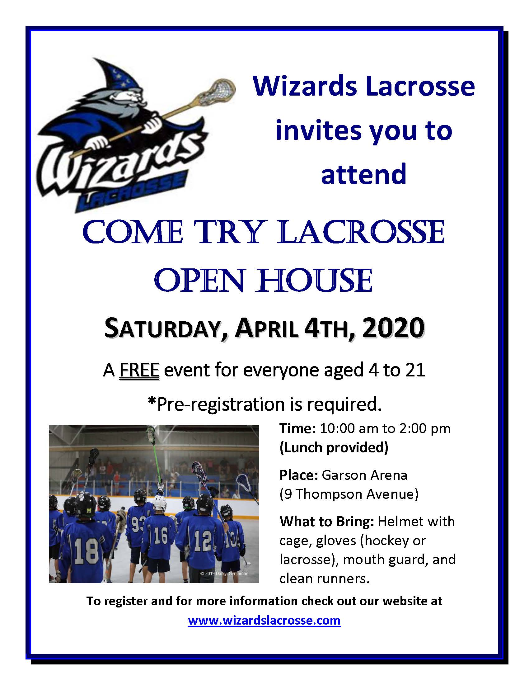 Open House Ad - 2020