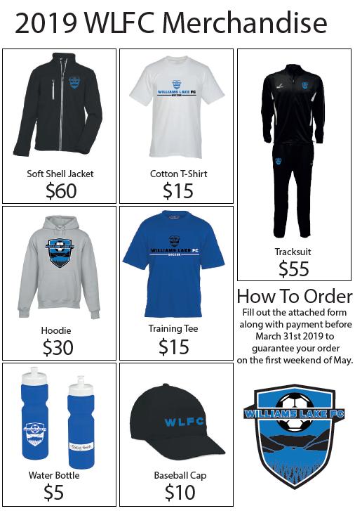 WLFC Merchandise