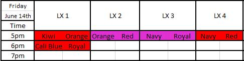 Friday U6 - U7 Games