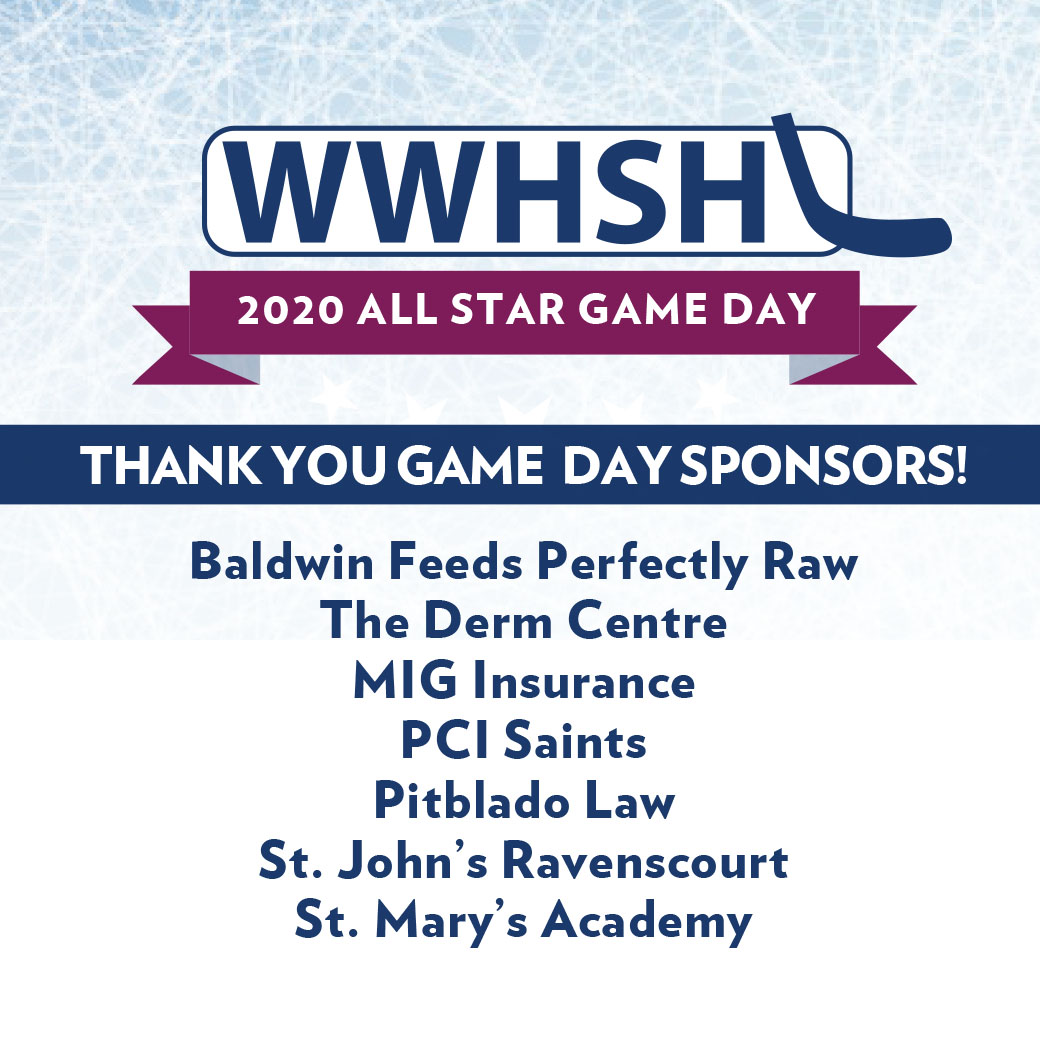 All Star Game Day Sponsors